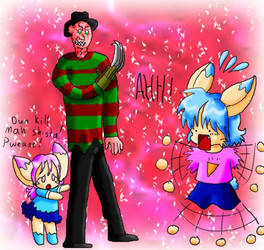 Freddy meets anime by Anime-Horrorclub