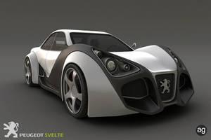 3D - Peugeot Svelte Concept 1 by AlexandreGuilbeault