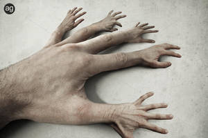 25 Fingers by AlexandreGuilbeault