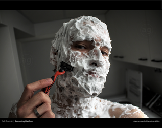 Becoming Hairless by AlexandreGuilbeault