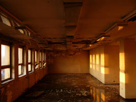 Abandoned Hospital room by renegadeofpeace