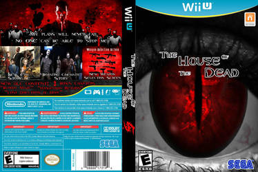 The House of The Dead 5 (Wii U Cover) by Mohamme
