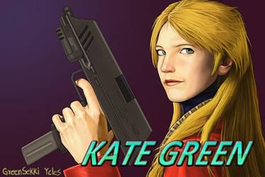 Kate Green (Remake) by Mohamme