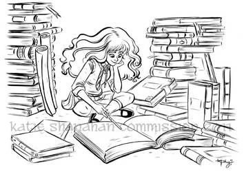 IndieGogo Commission: Hermione by ktshy