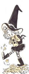 inktober 6: lil witch by ktshy