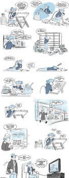 Shrub Monkeys: Comic Time by ktshy