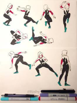 Spider-Gwen by ktshy