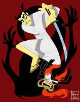 Samurai Jack by ktshy