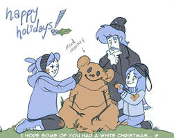 Shrub Monkeys 36 Happy Holiday by ktshy