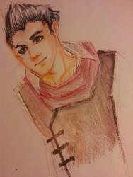 LoK: Mako sketch by Lilgreenhorn