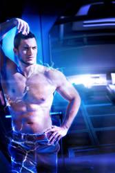 Kaidan Alenko: Real life biotics by jwdutoit
