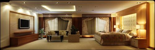 presidential bedroom side  WIP by rOSTyk