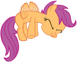 Scootaloo Can't Fly by Acer-Rubrum