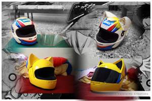Helmet modification WIP by ValeforHo