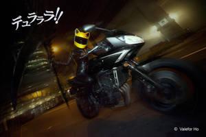 DRRR IV - Celty Dark Rider by ValeforHo