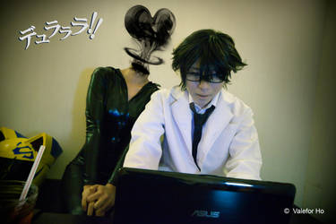 DRRR VII - Spooky Relationship by ValeforHo