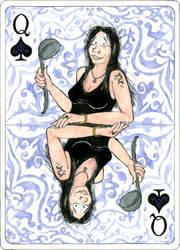 Gundula as Queen of Spades by PaulEberhardt