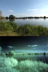 Visible Light vs. Infrared by PaulEberhardt