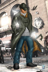 Watch Dogs by AlfaSkream
