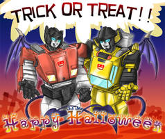 Trick or Treat? by umenosuke