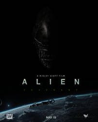 Alien Covenant poster by theshadowX14