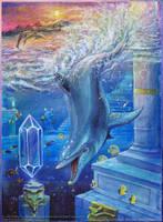 Ecco the Dolphin - Fall of Atlantis by Liris-san