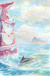 Ocean Guest (Seaside Hill) by Liris-san