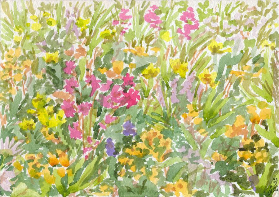 Motley Grass by Liris-san