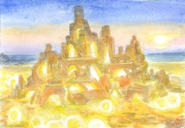 Sand Angel Island by Liris-san
