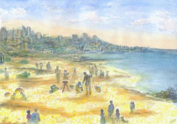 On the Shining Shore by Liris-san