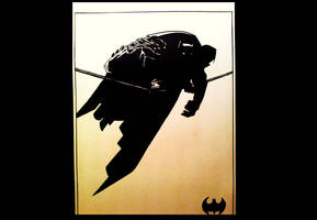 The Dark Knight Returns - Fan Art by NoeleoNl
