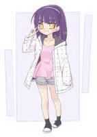 [OC] White Jacket by kuromikku