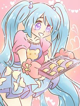 [Gift] Beary Cute Cookie by kuromikku