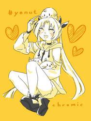 [OC] Neya Yellow Page by kuromikku