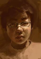 selfportrait2 by dangerousllama