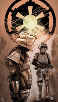 Imperial troopers 1 by digitalinkrod