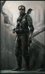 El Bounty Hunter by digitalinkrod
