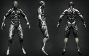 Ronin suit paintover by digitalinkrod