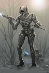 Krull beast army sketch by digitalinkrod