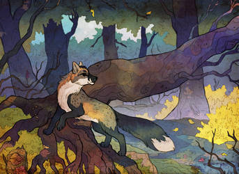October Morning by nettlebeast