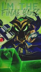 Veigar Final Boss Phone Wallpaper by PrincesaNela