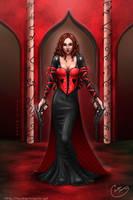 Queen of hearts by tavisharts