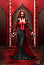 Queen of hearts by tavisharts