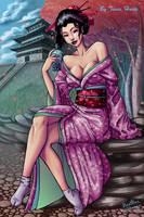Yuna bubbletea background by tavisharts