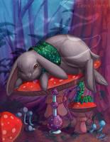 Sleepy time in wonderland by tavisharts