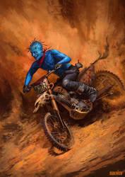 Racer of the desert by DalnevDmitry