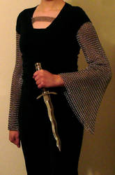 Chainmaille Sleeves Semi-Final by Kithplana