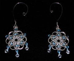 Celtic Snowflake Ornaments by Kithplana