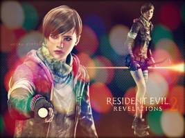 Resident Evil Revelations 2 - Moira by saifbeatsart