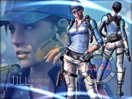 Jill Valentine (B.S.A.A) 2 by saifbeatsart